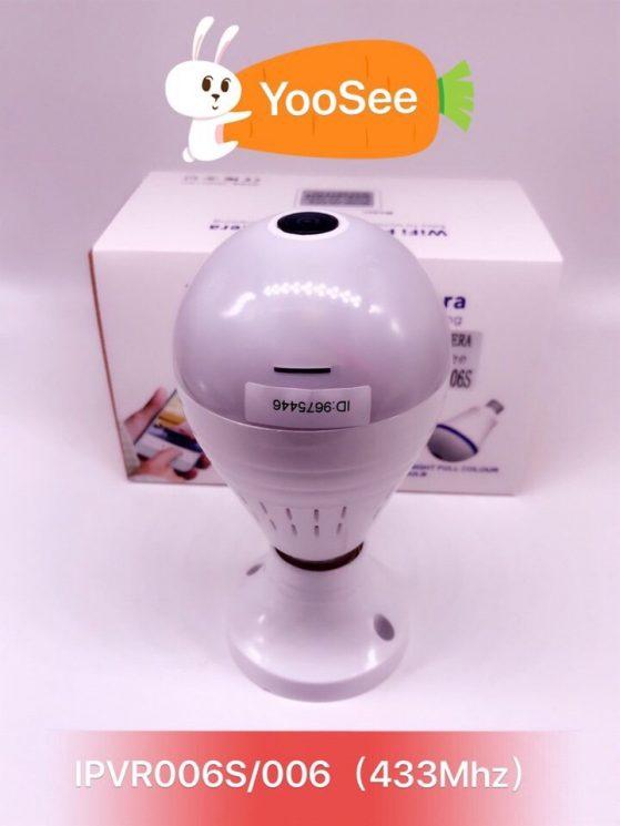 Camera yoosee ngụy trang bóng đèn 360