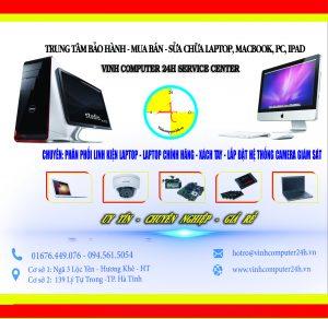 Vinh Computer 24h khai trương cơ sở mới TP. Hà Tĩnh